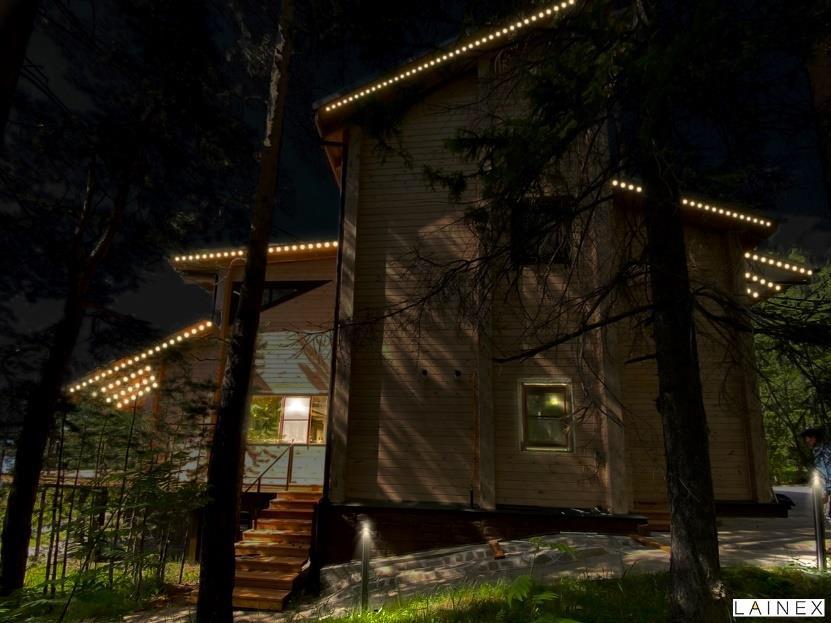 Визуализация освещения п. Таватуй, Свердловская область
