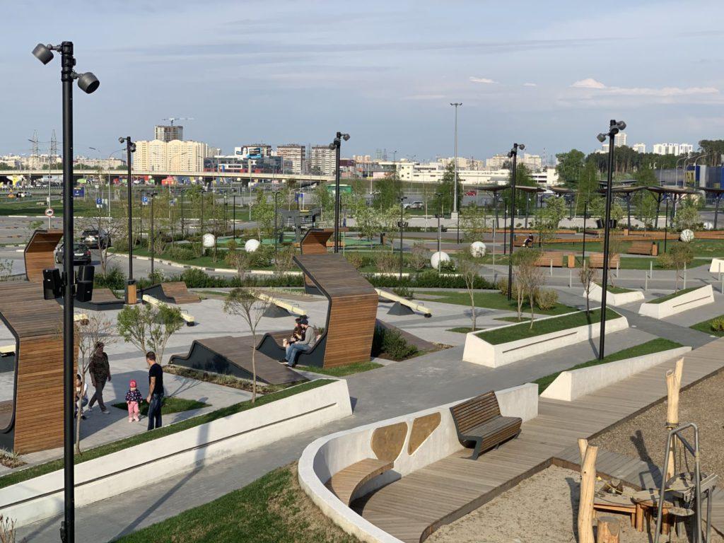 Автополив парков и коммерческих объектов