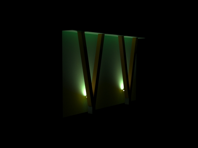 Визуализация освещения Зубровок